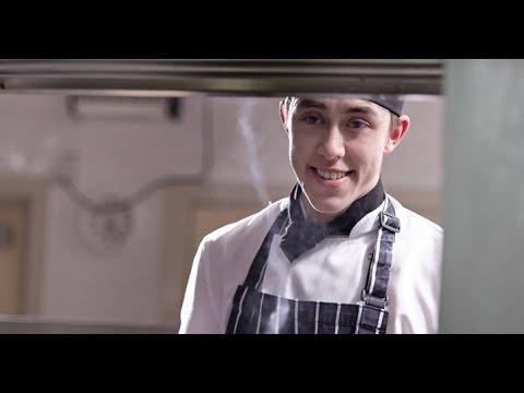 #COLCDaniel - Daniel Liu studying Professional Cookery
