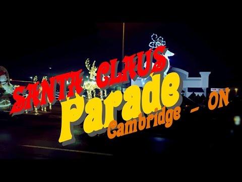 Santa Claus Parade 2016-Cambridge-ON-Canada