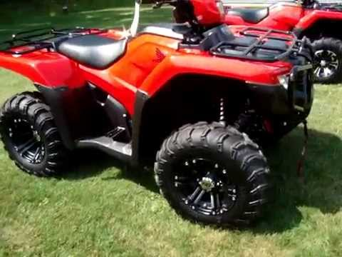 2015 HONDA RANCHER FOREMAN - YouTube