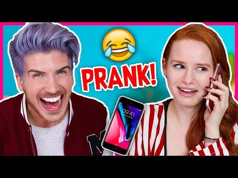 Download Youtube: PRANK CALLING IN SICK FROM JOBS WE DON'T HAVE! w/Madelaine Petsch