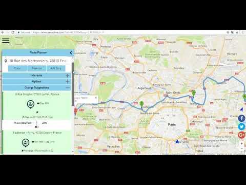 Ev Trip Planner >> Ev Trip Planner Youtube
