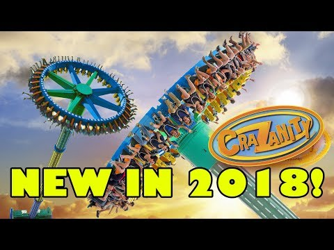 CraZanity - Six Flags Magic Mountain New Ride for 2018