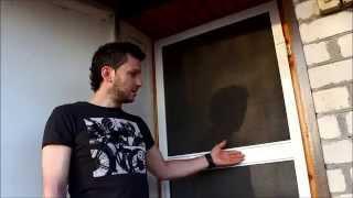 Как установить москитную сетку на дверь: фото, видео, инструкция