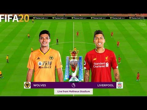 Wolves vs Liverpool - Premier League 19/20 Season - Full Gameplay   FIFA 20