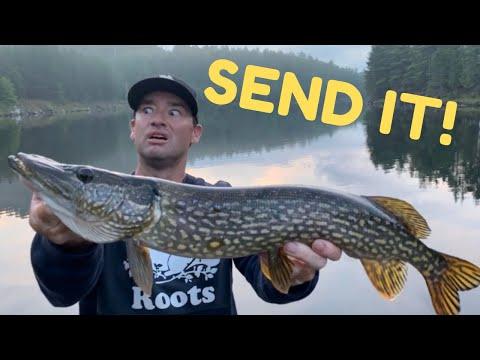 River Fishing Ontario - Most Canadian Fishing Trip! Bacon, Hockey, Walleye, Bass, Pike