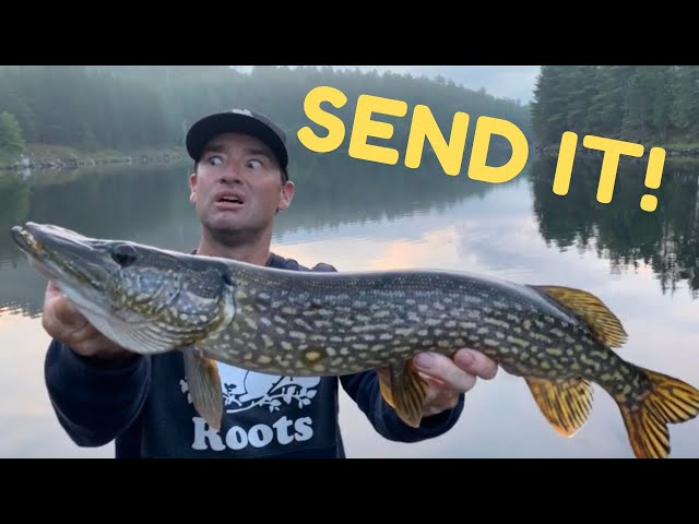 River Fishing Ontario - Most Canadian fishing trip! Bacon, Hockey, Walleye, Bass, Pike