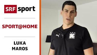Handball-workout Für Schulter, Rumpf & Beine Mit Luka Maros - Sport@home - Folge 10