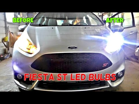 Ford Fiesta St Led Headlight Bulbs Installation Review By Auxbeam