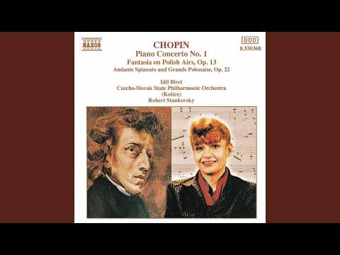 Piano Concerto No. 1 In E Minor, Op. 11: II. Romance: Larghetto