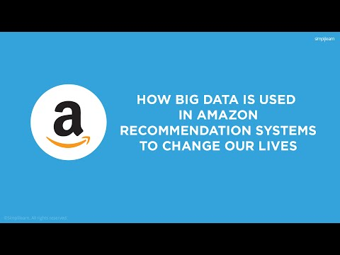 How Big Data Is Used In Amazon Recommendation Systems   Big Data Application & Example   Simplilearn