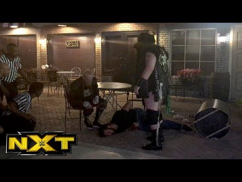 Fan footage captures SAnitY attacking Drew McIntyre in the parking lot: NXT Exclusive, July 5, 2017