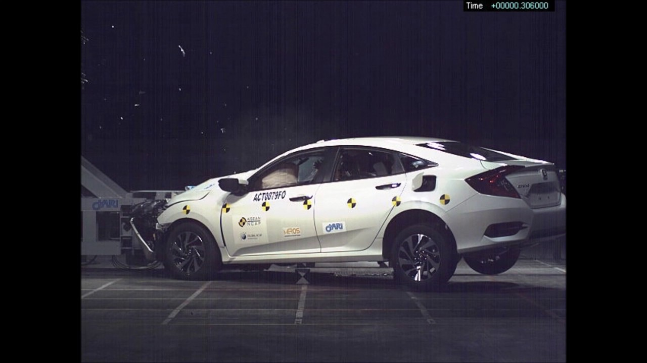 ASEAN NCAP - Honda Civic (2016) - YouTube