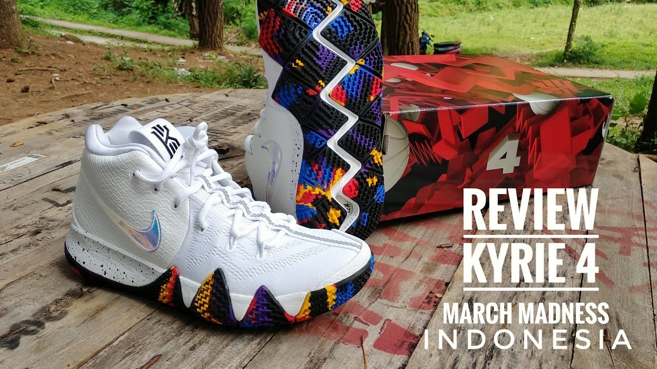 Nike Kyrie 4 March Madness Review Indonesia by unrealdani