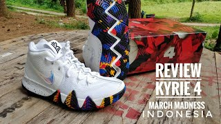 Nike Kyrie 4 March Madness Review Indonesia