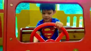 Indoor Playground Fun for Kids * Power Wheels