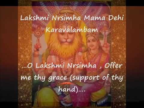 Eliminate Negativities – Sri Lakshmi Nrsimha Kravalamba