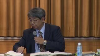 第一回豊洲市場における土壌汚染対策等に関する専門家会議 全編