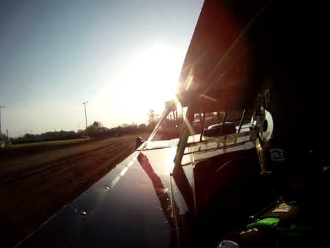 Jason Feger Hot Laps In-Car Fairbury American Legion Speedway