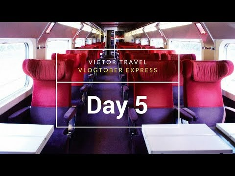 Vlogtober: Day 5 - In trains and story time: Plane Robbery