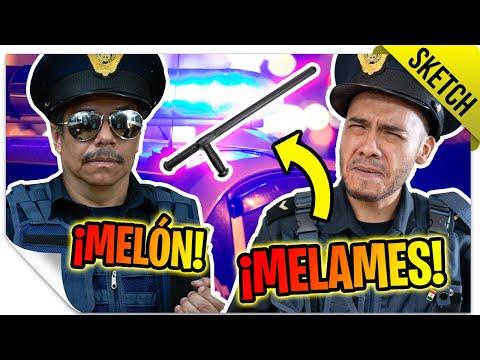Melón y Melames: Dos Miembros de la Justicia 🚨 | SKETCH