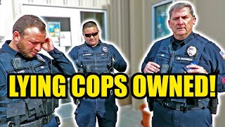 THREE LYING COPS OWNED & EXPOSED - FAIL