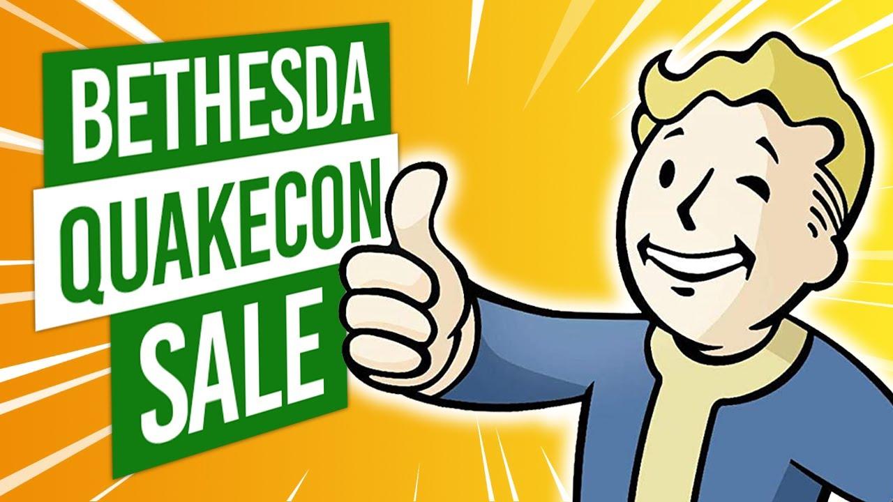 QUAKECON SALE | DOOM Eternal, Wolfenstein, Fallout, The Elder Scrolls + MORE | Xbox Deals