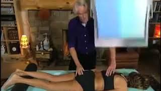 Corrección del coccix mediante Terapia Manual.