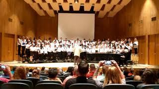 Harnett County All-County Honors chorus performs Stodoloa Pumpa