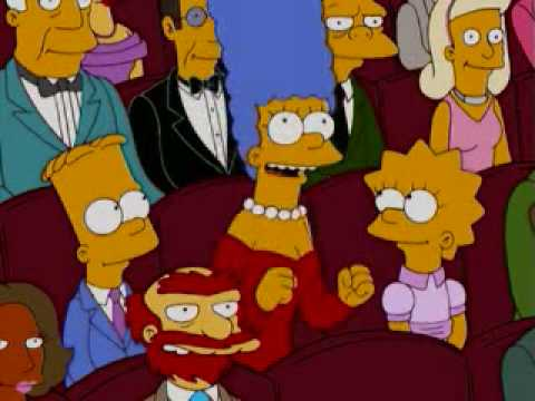 Frank Gehry in The Simpsons