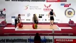 Чемпионат мира по тяжелой атлетике 2013!Мужчины 85 кг! Толчок