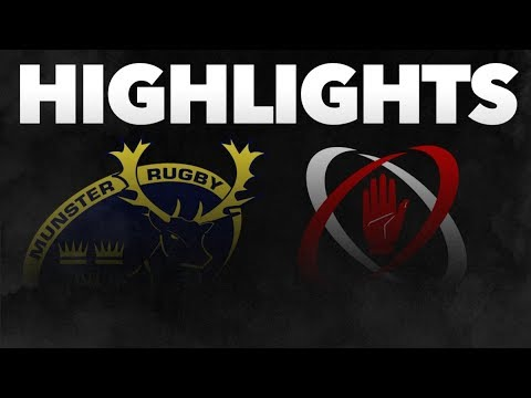 Guinness PRO14 Round 6: Munster Rugby v Ulster Rugby Highlights