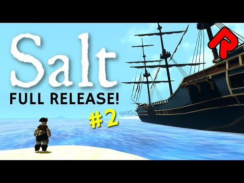 Merchants, Blacksmiths & Treasure Galore!   Let's play Salt 1.0 gameplay ep 2