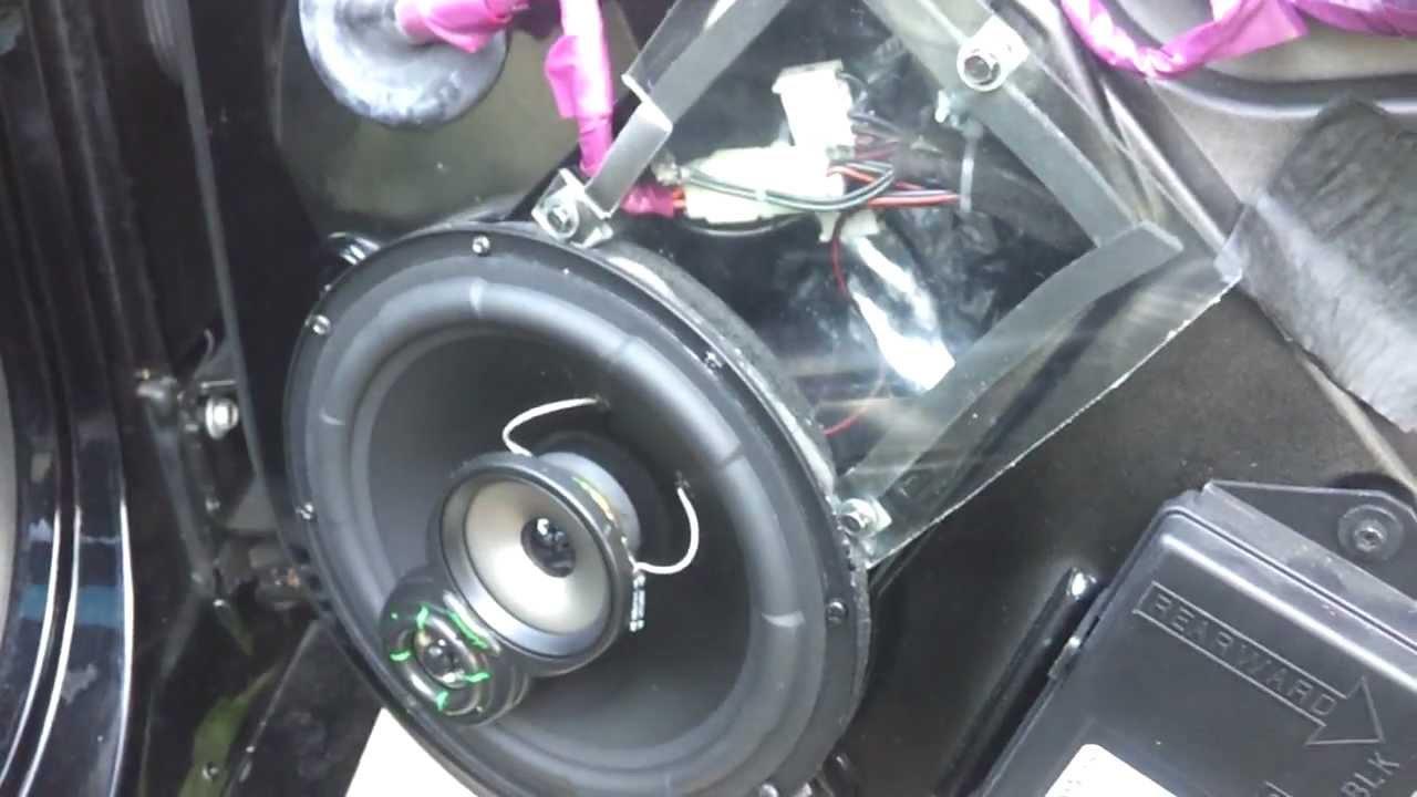 C5 Corvette Lanzar Door Speakers Youtube