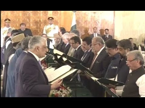 Federal Cabinet Oath Taking Ceremony