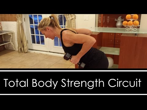 Total Body Strength Circuit Workout