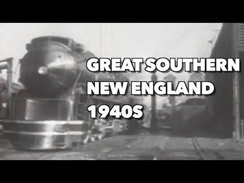 The Great Southern New England Railroad In Early 1940s