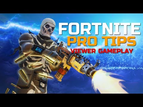 Fortnite CONSOLE TIPS! Viewer Gameplay #5