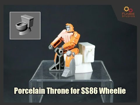 Deluxe Baldwin - What's New in Transformers? Toilet Seat for SS Wheelie