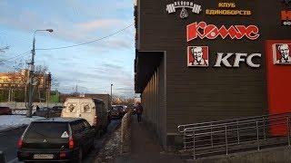 псв 40 Москва в районе метро Нагатинская нагорный и проектируемый проезд номер  1819 ЗИМОЙ УТРОМ