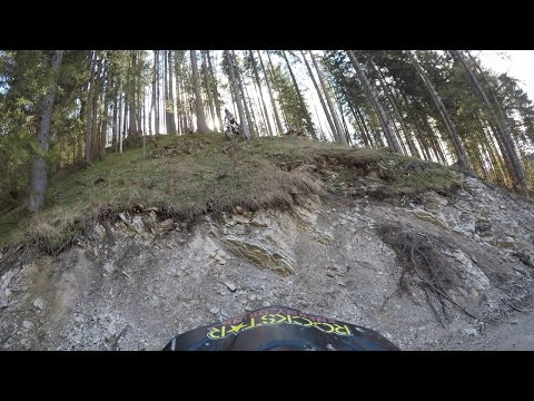 Sketchy Downhill Cliff (All Raw riding)