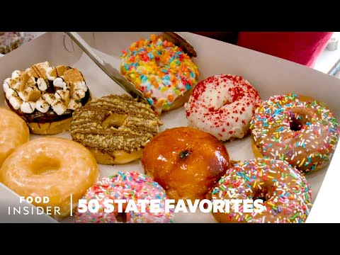Best Doughnuts In Every State | 50 State Favorites