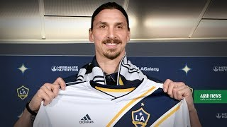 Zlatan Ibrahimovic displays trademark confidence as he joins LA Galaxy