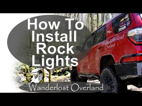 Best Way To Install Rock Lights - YouTube