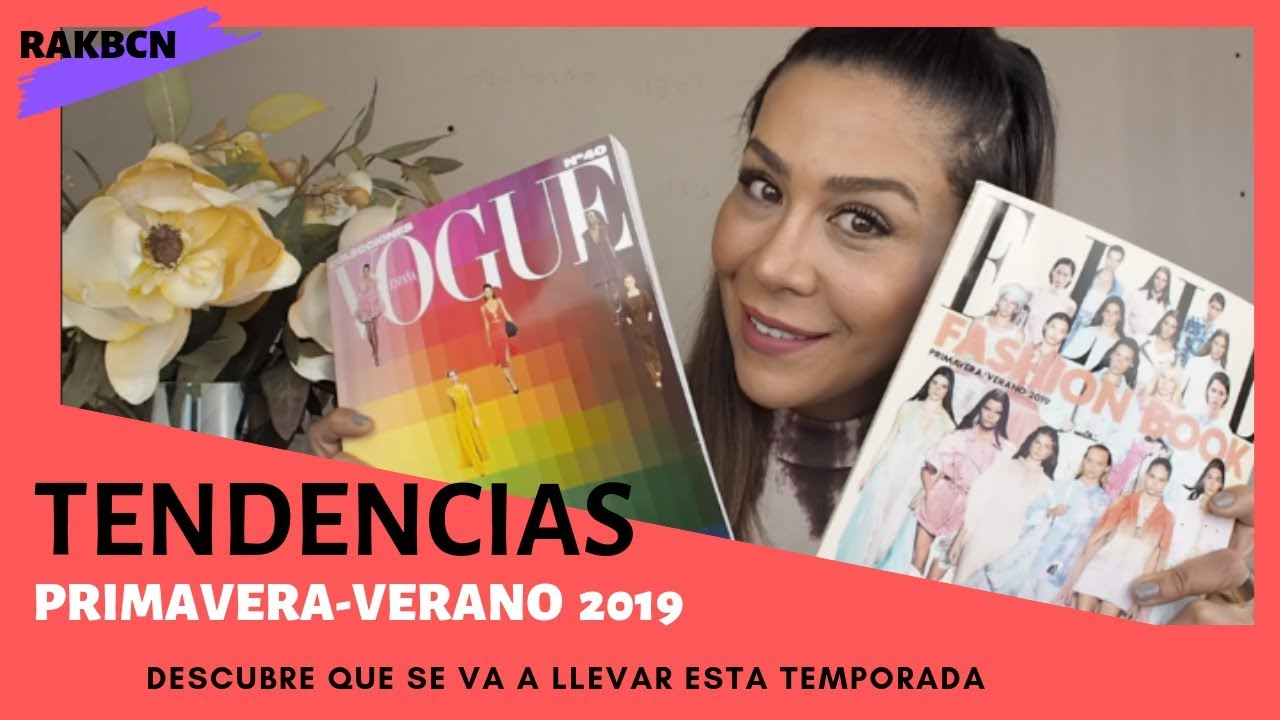 TENDENCIAS PRIMAVERA-VERANO 2019 - YouTube 4903f841f6b