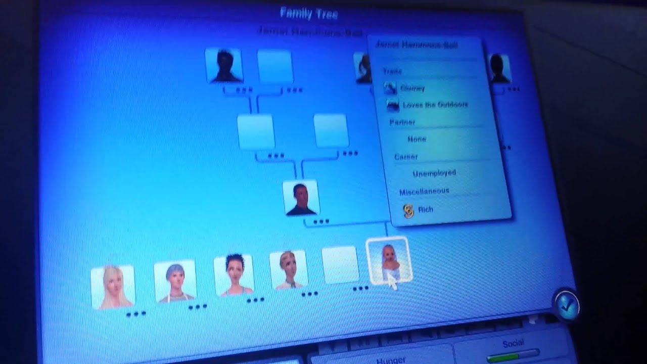 sims 3 huge family tree youtube