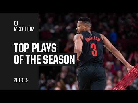 CJ McCollum 2018-19 Season Highlights