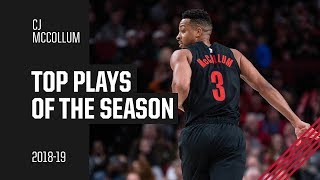 CJ McCollum 2018-19 Season Highlights