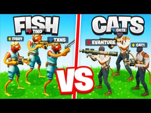 Philip Army VS Cat Army | IT'S WAR... (Ft Tiko & EvanTube)