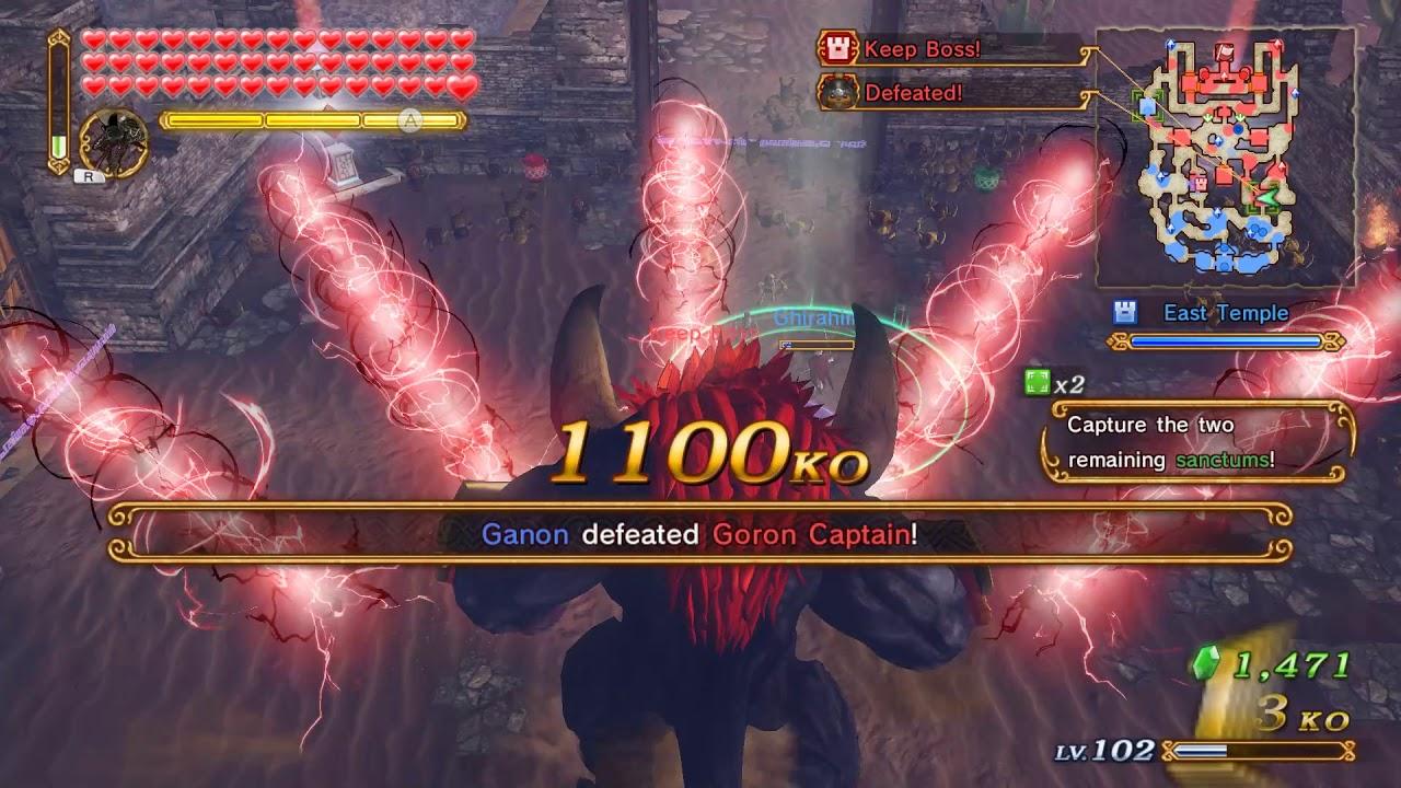 Hyrule Warriors Play as Beast Ganon Anywhere Mod Cemu!