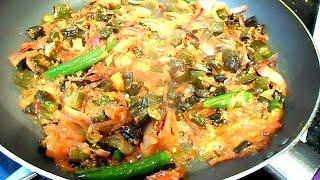 Bhindi Masala Recipe Pakistani, Okra Video Recipe by (HUMA IN THE KITCHEN)